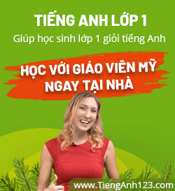 Tiếng Anh lớp 1